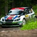 Lídři seriálu Intercontinental Rally Challenge Norové Mikkelsen - Floene