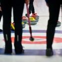 Ze zápasu Estonek se Slovinkami (9:2), European Junior Curling Challenge - Prague 2013