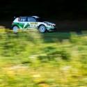 Fin Espekka Lappi s tovární Škodou fabia S2000 bojoval do té doby, než se mu do cesty postavil strom. Barum Czech Rally Zlín 2013