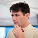 Roman Kresta jako by konec své závodní kariéry ještě zvažoval. Barum Czech Rally Zlín 2013