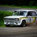 Vančík s Vajďákem nakonec svoji Ladu dovezli na prvním místě s náskokem více než 20 sekund. Star Rally Historic 2013