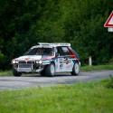 Lancia Delta HF Integrale poutala pozornost na každém kroku. Dokonce i když v zatáčkách přišla o nárazník. Star Rally Historic 2013