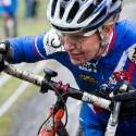 Závodní úsměv v podání Slovenky Janky Keseg ŠŠtevkové, ME v cyklokrosu 2013 (her)