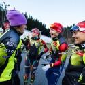 Její týmoví kolegové takové dilema nemají..., biatlonová exhibice 2014