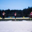 Vložený závod české biatlonové elity, biatlonová exhibice 2014