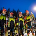 Čtveřice, která v Sochi zajistila našim barvám hned 5 biatlonových radostí, biatlonová exhibice 2014