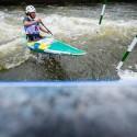 Ana Satila (BRA), IFC canoe slalom World Cup 2014 – Prague