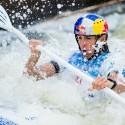 Jana Dukátová (SVK) tentokrát na stupně vítězů nedosáhl, IFC canoe slalom World Cup 2014 – Prague