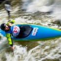 Yekaterina Lukicheva (KAZ), IFC canoe slalom World Cup 2014 – Prague