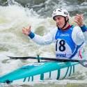 Michal Smolen postpuil ze semifinále kategorie K1 z prvního místa a ve finále jel tedy poslední. Jeho jízda stačila na třetí místo, IFC canoe slalom World Cup 2014 – Prague