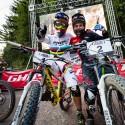 Tak jako v kvalifikaci, i v hlavním závodě skončili Tomáš Slavík a Felix Beckemann, JBC 4X Revelations 2014