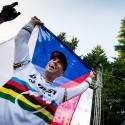 Radost vítězného českého bikera, JBC 4X Revelations 2014