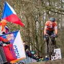 MS cyklokros Tábor 2015, osamělý Mathieu Van der Poel (NED) (her)
