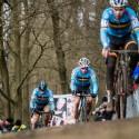 MS cyklokros Tábor 2015, trojlístek belgičanů v kategorii Elite (her)