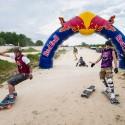 Dva metry před cílem není ideální místo pro pád, Red Bull Feel the Wheel 2015