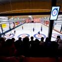 Diváci napjatě sledující finálové zápasy, European Junior Curling Challenge - Prague 2013