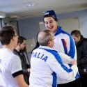 Trenér se na svého svěřence vrhl eadostně a s pěstičkami, European Junior Curling Challenge - Prague 2013