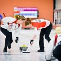 Dánky posílají rozhodující kámen finále, European Junior Curling Challenge - Prague 2013