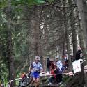 Nejtěžší lesní úsek.