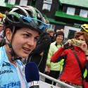 Tereza Huříková dává vítězné rozhovory.