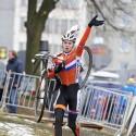 MS cyklokros Tábor 2015, Van Der Heijden (NED) (syn)
