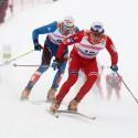 Skiatlon muži - ROENNING Eldar (NOR) na trati