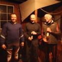 Vítězné trio, zleva Zobač, Vacula, Ptašnik. (syn)
