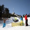 V akrobatickém lyžování se hodnotí jak provedení, tak rychlost a proto je třeba pořádně v tréninku vyladit styl.