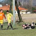 radost v podání Jablonského s Nedbalem po třetím gólu do domácí sítě