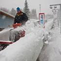 Úklid sněhu z dráhy