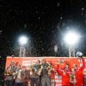 World Cup stupně vítězů. Zleva: Marko HUEBENBECKER a Maximilian ARNDT, Thomas FLORSCHUETZ a Kevin KUSKE, Beat HEFTI a Thomas LAMPARTER