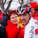 Po náročném závodě přivítá každý závodník péči svých nejbližších jako Kamil Ausbuher