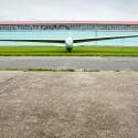 Starý Blaník upoutaný před hangárem nesoutěžil