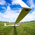 Plachtařská letadla jsou charakteristická délkou křídel, tento model má rozpětí 15m